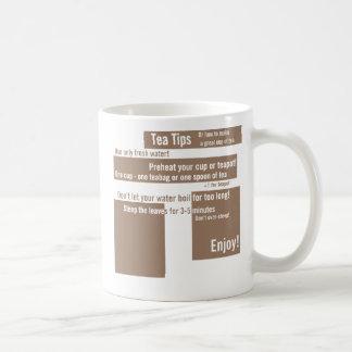 Tea Tips - Or how to make a great cup of tea Classic White Coffee Mug