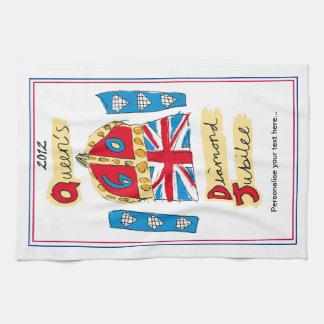Tea Towel, Queen's Diamond Jubilee