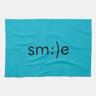 Tea Towel - smile