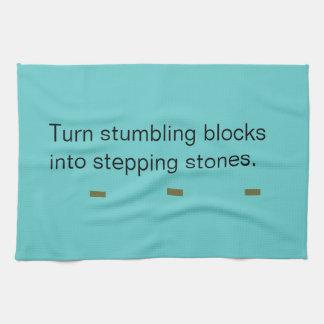 Tea Towel - stepping stones