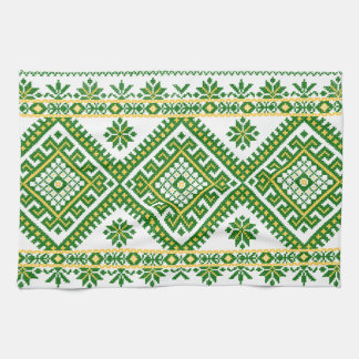 Tea Towel Ukrainian Cross Stitch Embroidery