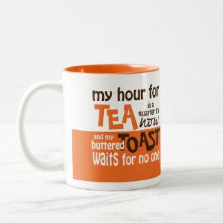 Tea Waits for No One Coffee Cup / Mug