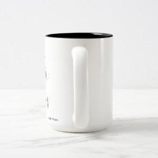Tea & Warm Socks Two-Tone Coffee Mug