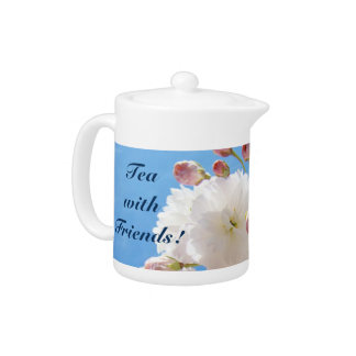 Tea with Friends! tea pots gifts Holidays Blossoms