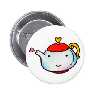 Tea With Love Buttons