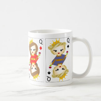 Tea with the Queen Classic White Coffee Mug