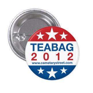 Teabag 2012 Round Pins