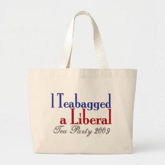 Teabag a Liberal (Tea Party 2009) Bag