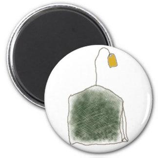 teabag 2 inch round magnet