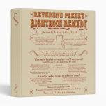 Teabag Miracle Cure Vinyl Binders