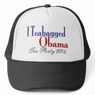 Teabag Obama (Tea Party 2009) hat