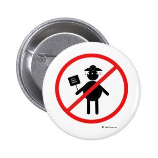 Teabagger anti pin redondo 5 cm