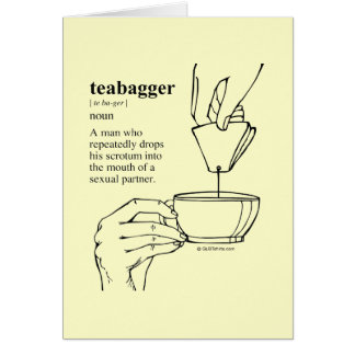TEABAGGER CARDS