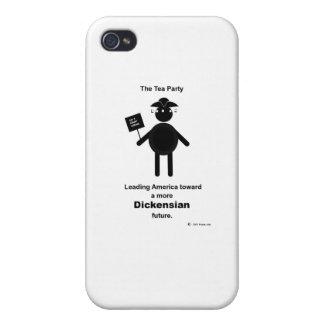 Teabagger Dickensian iPhone 4/4S Carcasa