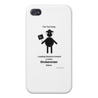 Teabagger Dickensian iPhone 4 Case