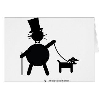 Teabagger el perro tarjeta