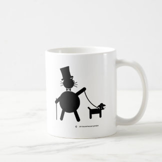 Teabagger el perro taza