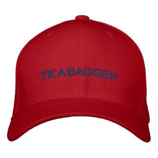 TEABAGGER EMBROIDERED BASEBALL CAP