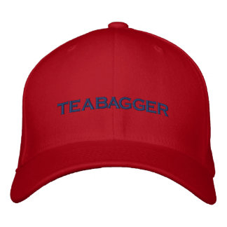 TEABAGGER EMBROIDERED BASEBALL CAP