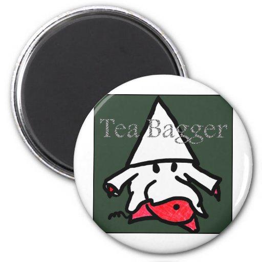 teabagger fridge magnet