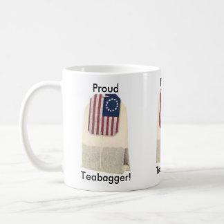 ¡Teabagger orgulloso! Taza De Café