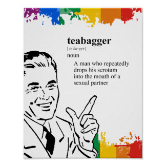 TEABAGGER POSTERS