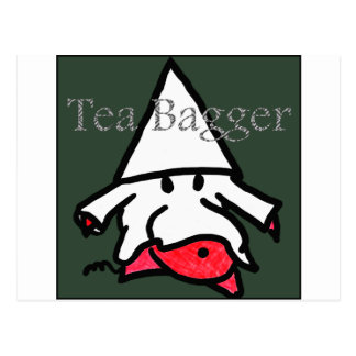 teabagger postcard