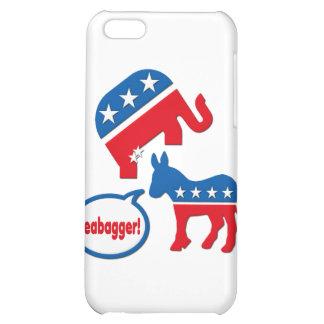 Teabagger Republican Democrat Tea Party Politics iPhone 5C Cover