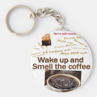 Teabagger Smell the Coffee. Keychain