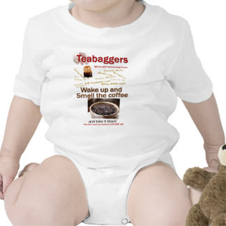 Teabagger Smell the Coffee. Bodysuit