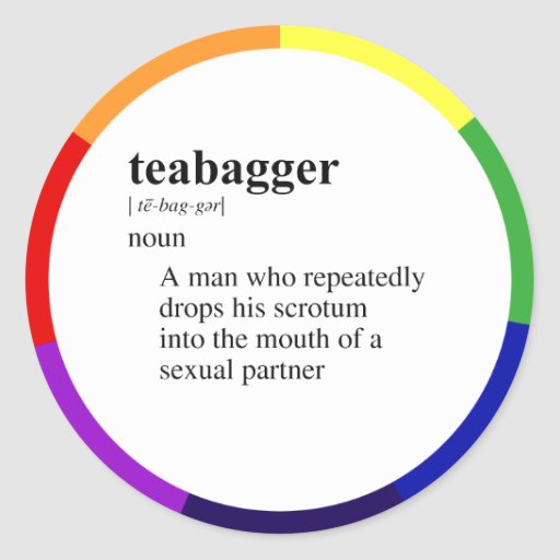 TEABAGGER STICKERS
