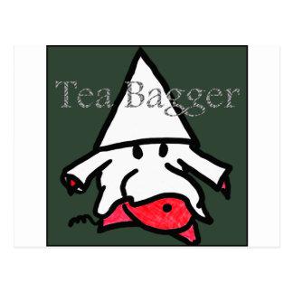 teabagger tarjeta postal