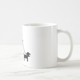 Teabagger the dog coffee mug