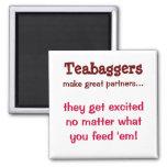 Teabaggers Fridge Magnet