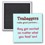 Teabaggers Imán De Frigorífico
