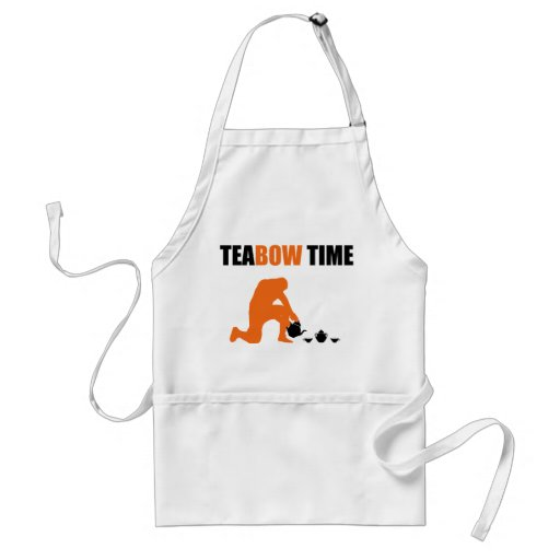 Teabow Time Tea Set Football Prayer Adult Apron