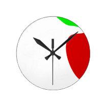teach2 round clock