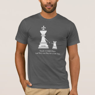 Teach a child Chess & Play for a Lifetime, T-Shirt