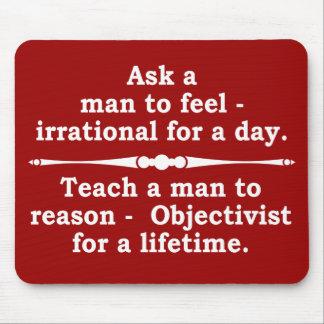 Teach a man... mousepad