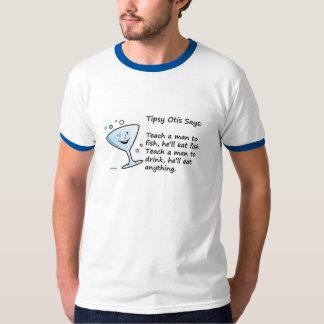 Teach a man to fish, he'll eat fish. shirt