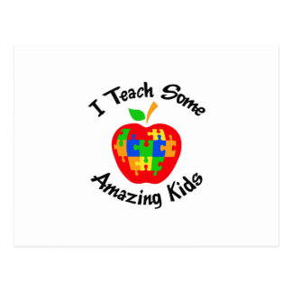 TEACH AMAZING KIDS POSTCARD