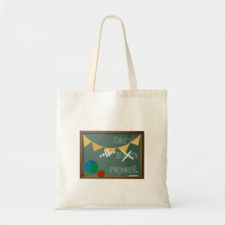 Teach. Coffee. Repeat. Tote