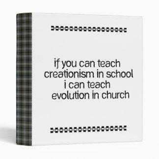 Teach Evolution In Church Binder