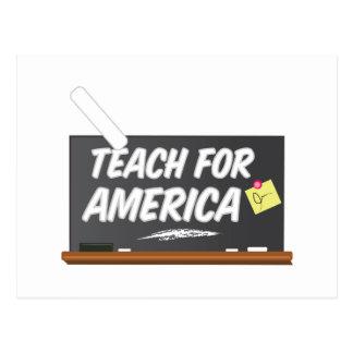 Teach For America Postcard