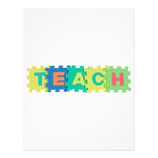 Teach Full Color Flyer