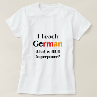 Teach german T-Shirt