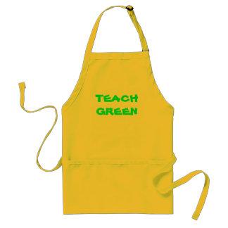 TEACH GREEN Apron
