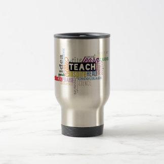 Teach. Learn. Grow. Travel Mug