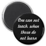 Teach & learn refrigerator magnets