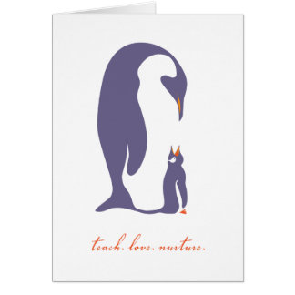 Teach. Love. Nurture. Card